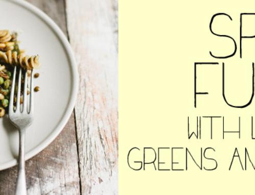 Spelt Fusilli wiht Lentils, Greens & Lemon