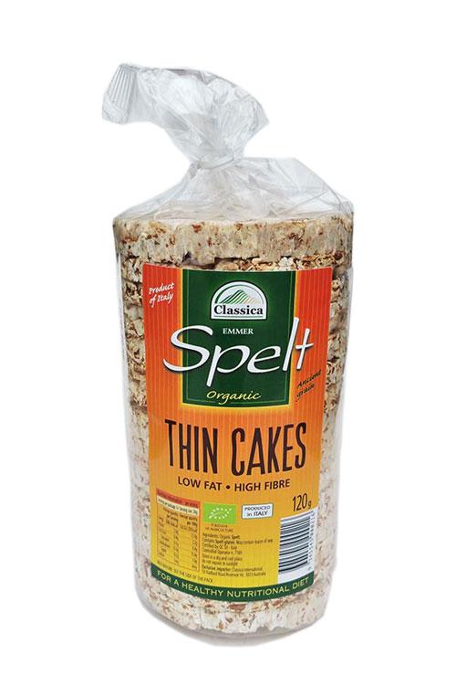 Spelt Thin Cakes