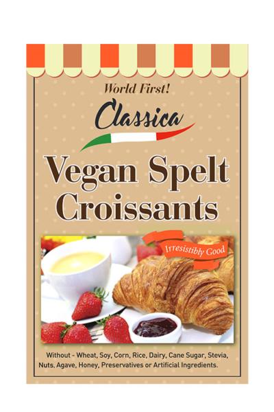 Spelt Vegan Croissants