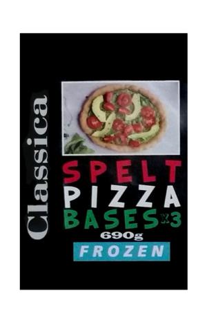 Spelt Pizza Bases